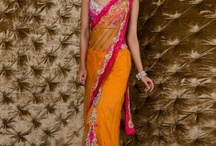 Bridal Party Attire / Non-western options. Make sure if you get a saree, get the pre-stitched option!! / by Jenny Solove Patel