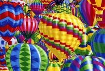 Hot Air Balloons ~ Up, Up & Away! / Beautiful Hot air balloons, colorful Hot air balloon, Hot air balloon festivals / by acharmingmoment