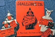 Vintage Halloween Place Cards