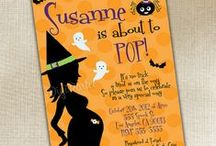 Halloween Baby Shower / Spooky Party for your little Boo!