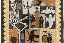 Halloween Quilts / Festive and Nostalgic Halloween Quilts & Ideas