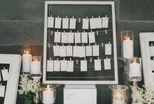 Inventive Escort Cards, Programs & Menus for Weddings / Creative escort card, placecard, program, and menu ideas and displays that range from traditional to one-of-a-kind.