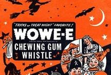 Vintage Halloween Ads / Neat old time ads featuring Halloween products and party ideas