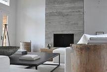 Modern rustic / Contemporary rustic interiors