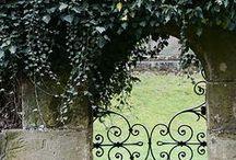 garden gates and walls