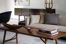 Mid century inspired interiors