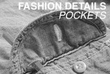 Fashion Details - Pockets / Fashion pocket inspiration