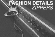 Fashion Details - Zippers / Fashion zipper inspiration