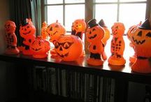 Vintage Halloween Blow Molds / Collecting vintage Halloween blow molds