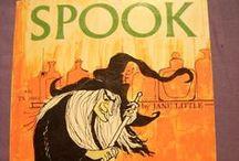 Vintage Halloween Children's Books / Vintage Halloween books for kids.