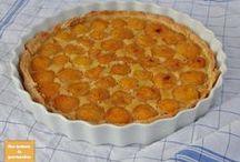 Réalisations fruitées / Toutes les recettes sont disponibles sur le blog :  www.mesinstantsdegourmandise.blogspot.com