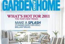 the White House Beach Villa Garden and Home Magazine / The White House Beach Villa featured in Garden and Home Magazine