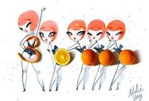 Adolie Day / Adolie Day, illustratrice, agence Marie Bastille
