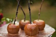 Awe-Inspiring Autumn Events / Beautiful ways to inject weddings, parties, and corporate events with a bit of Fall spice.  Just looking at these images conjures up the smell of simmering nutmeg and warm pumpkin candles!