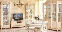 ГОСТИНЫЕ / Модульные серии мебели для гостиной. Корпусная мебель напрямую от производителя. Фабрика мебели «Алмаз» (ООО). Мебель «Любимый Дом».
