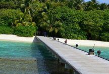 Places / Dazzling beaches.Dreamy travel destinations.
