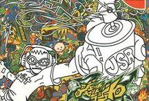 Dreamcast box arts. / Dreamcast video game box arts.