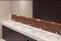 For Public Bathrooms / List of our washbasins that are designed for public bathrooms and semi-public bathrooms. Hotels, Shopping centers etc.