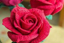 Rose uncinetto