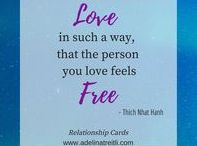 Relationship Cards / Inspiration and Motivation to create a heart and soul-connected and fulfilling love-life