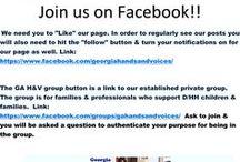 Ga Hands & Voices Social Media