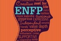 ENFP / I am a extroverted, Intuitive, feeling, perceiving person. What does that mean? Read below.