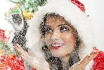 Christmas Girls (Portfolio) / Collection of images with Santa girls, Christmas women in different Christmas related situations.