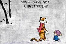 Calvin and Hobbes / How do you not love these two?!
