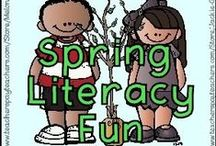 Spring Literacy Fun! / Story recommendations and literacy-based resources for children in kindergarten to grade three to celebrate spring! Please follow, then email iam@thatfunreadingteacher.com to join. Feel free to invite friends to join.To keep the board tidy, please limit your pins to three per day, and if you would like to repin, please delete the previous copy of that pin. / by That Fun Reading Teacher