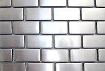 Amazing Metal Tile / http://rbctile.com/series/urban-renewal-2/