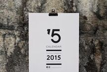 Calendar 15 / Graphic Wall Calendar illustrated & designed by 12 different designers.