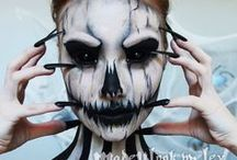 Halloween Makeup and Costume Ideas / Spooky make up and costume ideas for Halloween!
