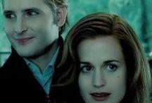 Carlisle Cullen and Esme