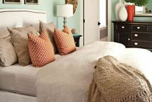 New Bedroom! / Ideas for decorating, organizing, and remodeling my my new bedroom and bathroom.  / by Vanessa Mounts