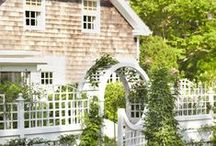 Beautiful on the outside / An Englishwoman's inspiration for a garden in America.