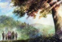 • Kokoro Brokoro Anime • / Anime: • Rainbow • Clannad / After Story • Ano Hana