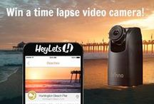 #CONTEST TO WIN a Brinno TLC200PRO Timelapse Camera!! / #HeyLets is running a contest and we want you to WIN! Download the #HeyLets App and share your favorite restaurants, shops and overall adventures with the #HeyLets community! www.heylets.com