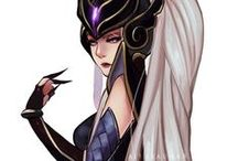 ☀ LoL - Waifus ☀ / { Jinx - Syndra - Lissandra - Ahri ♥ And more beloved League Grills }