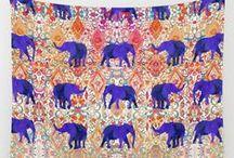 Society6 Wishlist / wall tapestries galore.