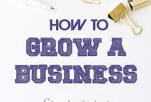 Small Business Marketing / A plan to create a business marketing strategy to grow your business.