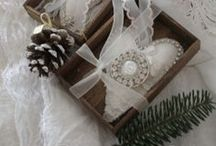 ~Christmas white~ / ~ Brocante  ~ Holiday ~ Cozy ~