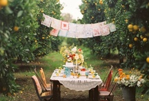 ~Eating outdoors~