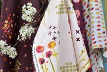 fabric / Modern, organic fabric