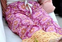 sewn with monaluna / Beautiful items sewn with Monaluna fabrics