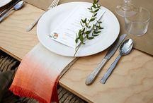 Wedding {table settings}