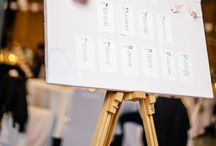Wedding {seating charts/escort cards}