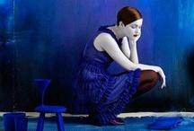 Blue themes - mood board / Hues of blue