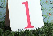 Wedding {Lisa & Marcelo//Table numbers}