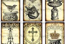 ~Vintage printables~