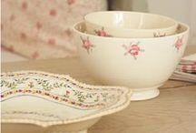 ~ Ironstone - bowls & plates ~
